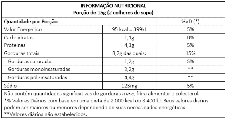 Semente de abóbora integral c/ sal marinho - Vitao - 01 un