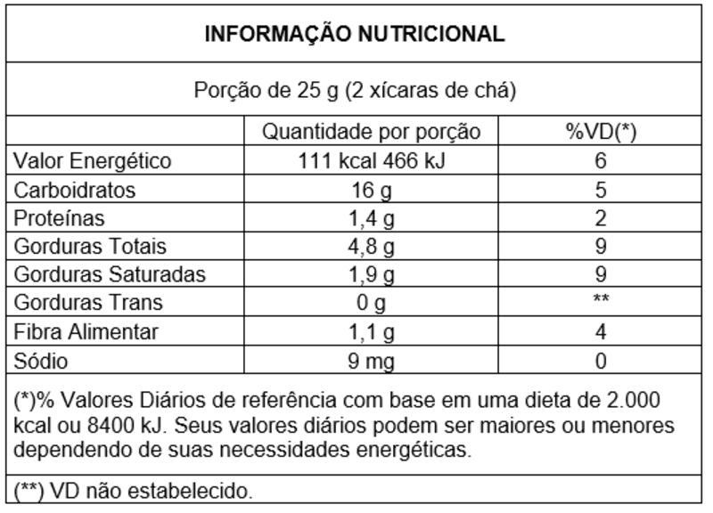 Snack integral s/ glúten sabor ervas finas - Vitao - 01 un