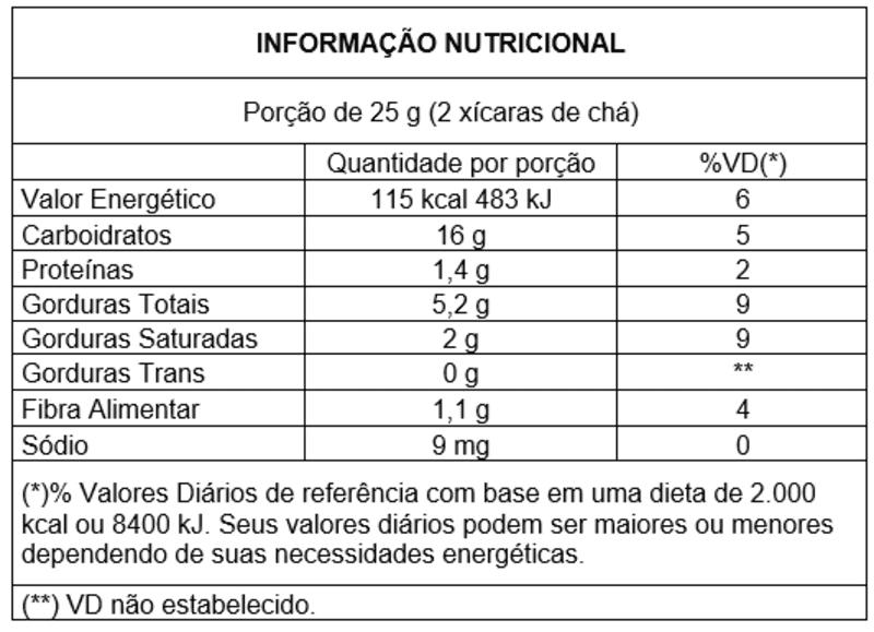 Snack integral s/ glúten sabor queijo - Vitao - 01 un