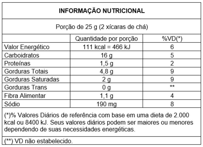 Snack integral s/ glúten sabor tomate e orégano - Vitao - 01 un