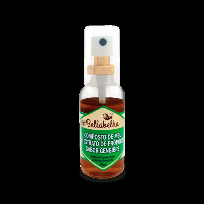 Spray própolis, mel e gengibre 30 ml - Bellabelha - un