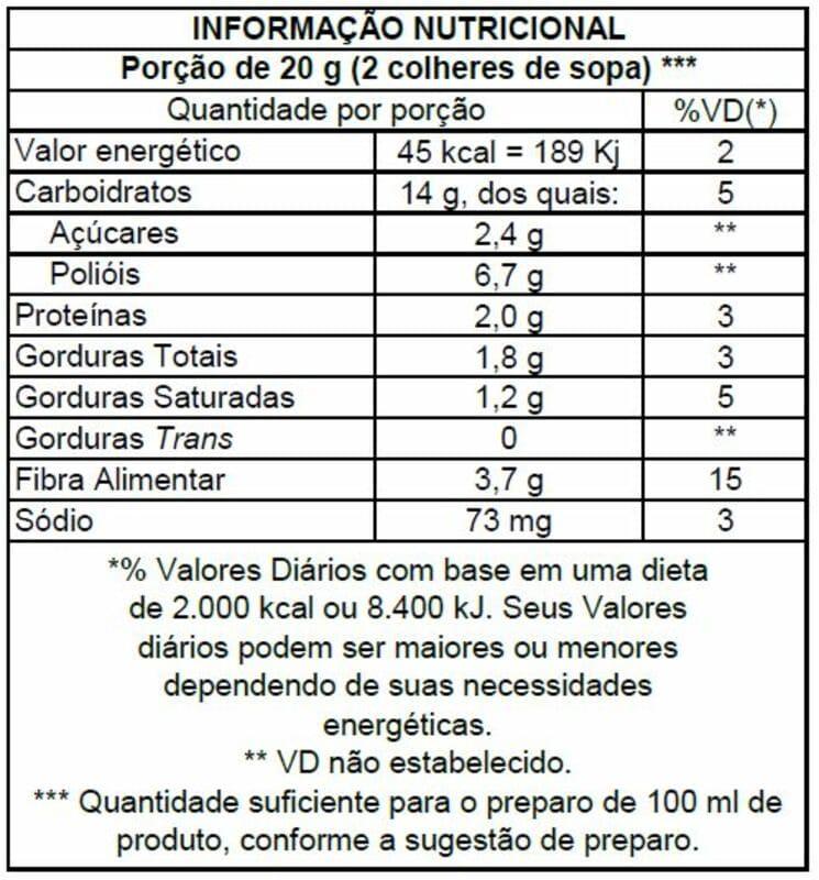 Cappuccino c/ stévia em pó 220 g - Stevita - 01 un