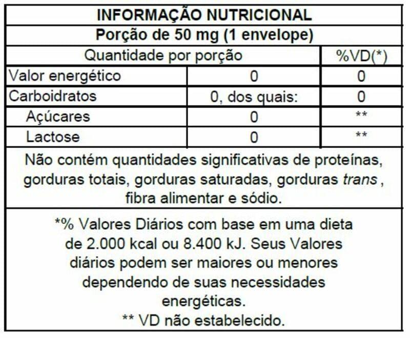 Adoçante stévia Stevita sachê orgânico - Stevita - 01 cx c/ 50 sachês
