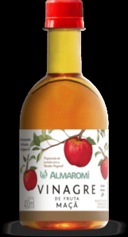 Vinagre de maçã 400ml - Almaromi Viccino - unidade