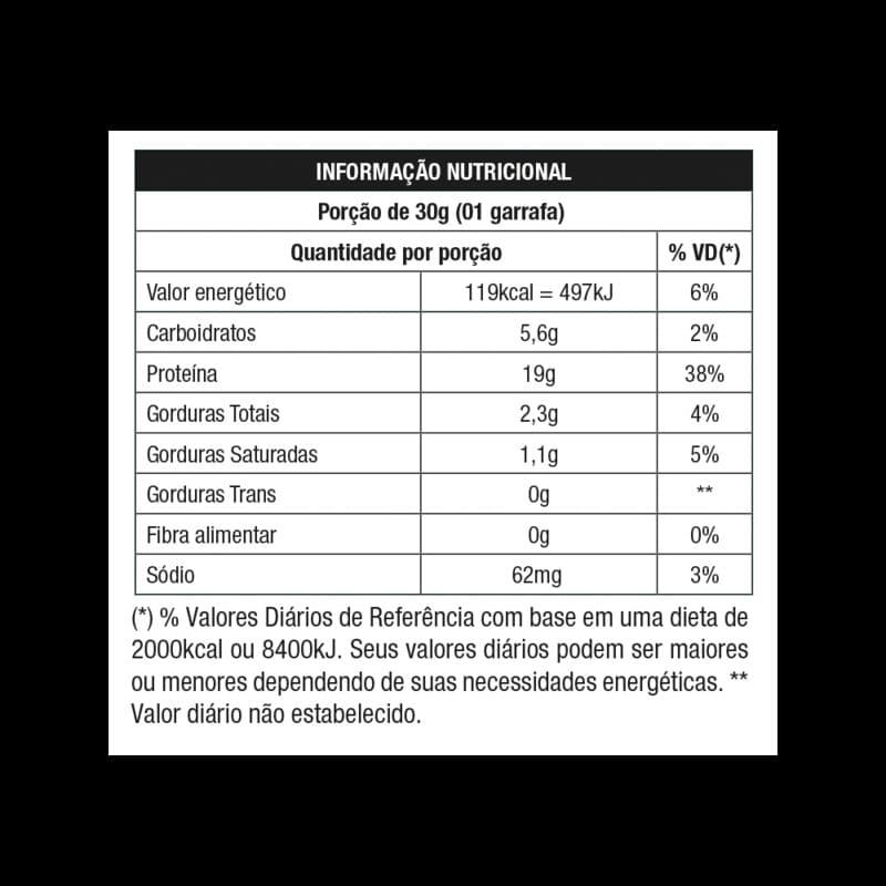 Whey grego sabor morango c/ chantilly monodose 30 g - Nutrata - 01 un