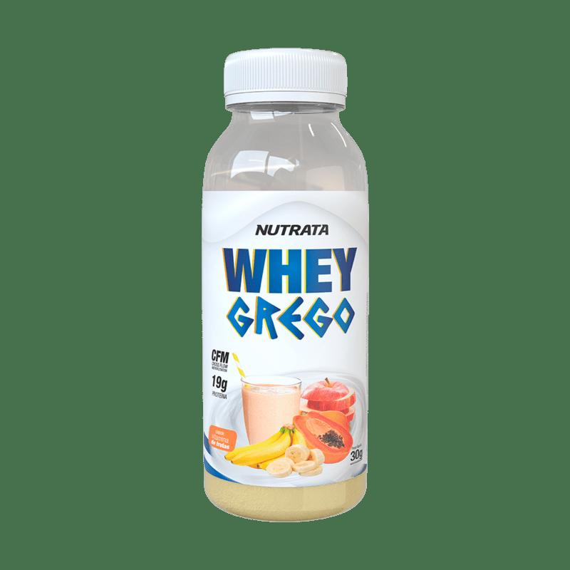 Whey grego sabor vitamina de frutas monodose 30 g - Nutrata - 01 un
