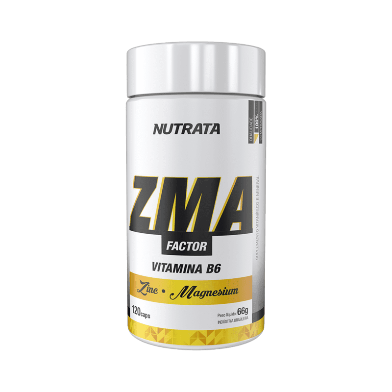 Composto zma factor 120 cápsulas - Nutrata - 01 un
