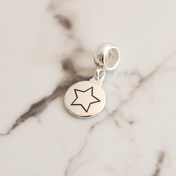 Berloque de Prata 925 Estrela