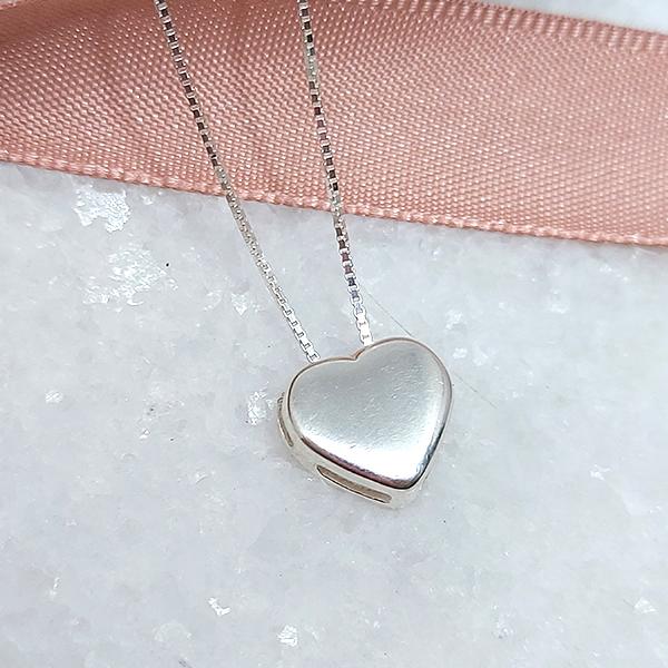 Colar de Prata 925 Coração
