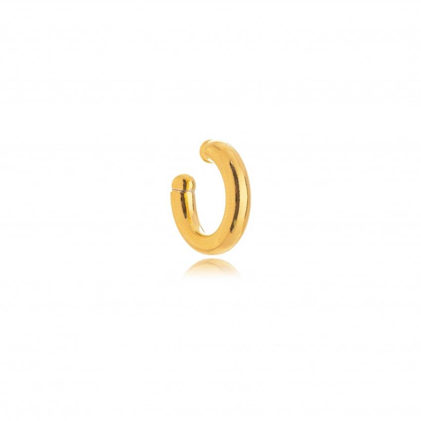 Piercing Fake Tubo Banho Ouro 18k