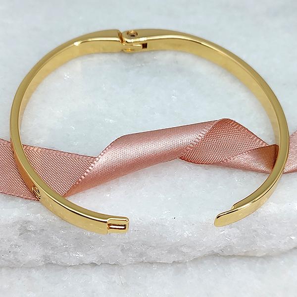 Pulseira Bracelete Love Banho Ouro 18k