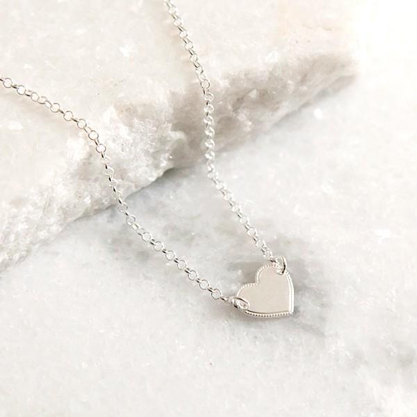 Pulseira de Prata 925 Coração