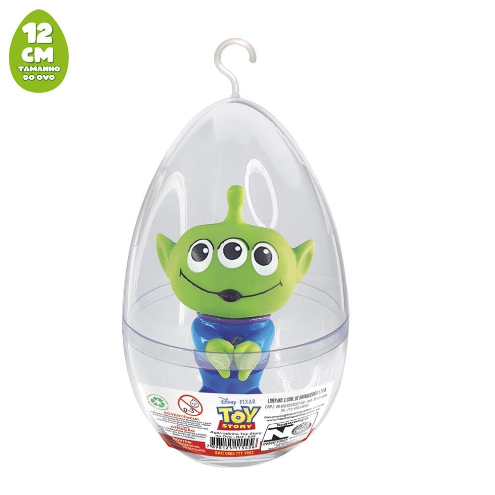 Agarradinho Alien Toy Story no Ovo Pequeno