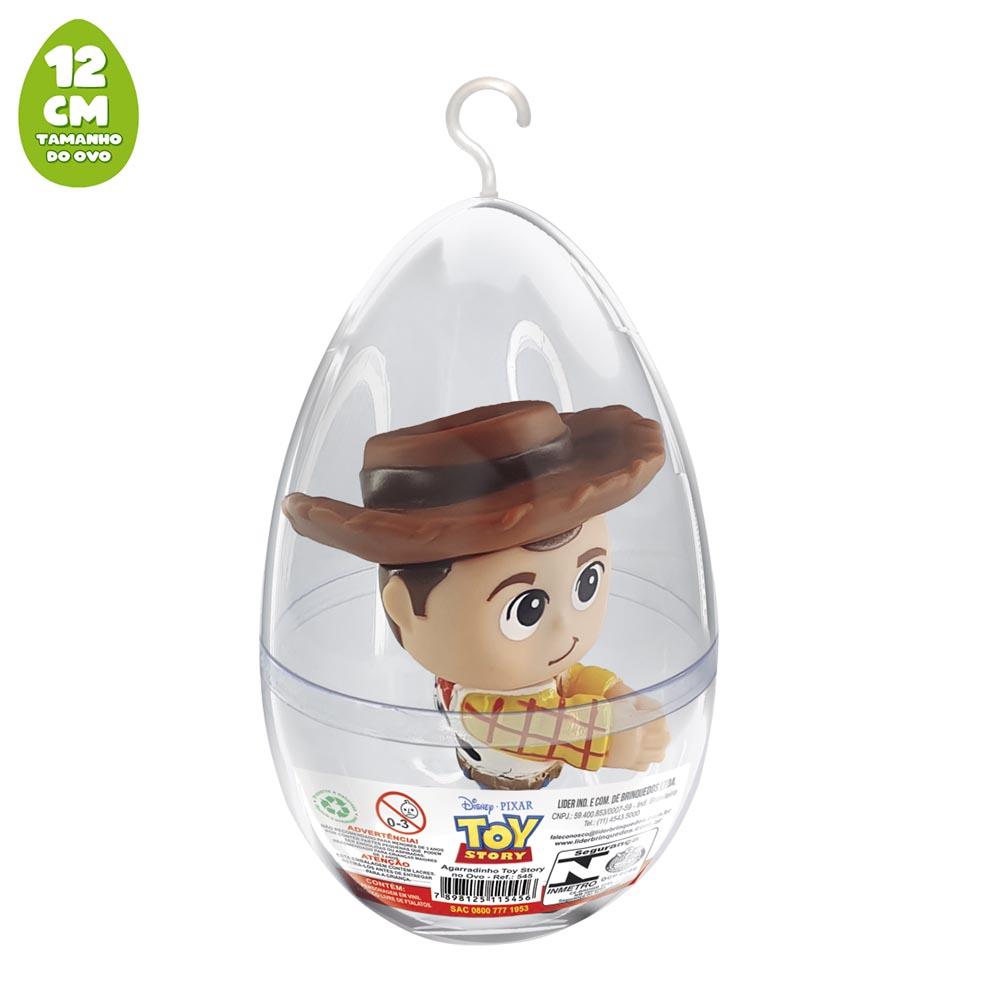 Agarradinho Woody Toy Story no Ovo Pequeno