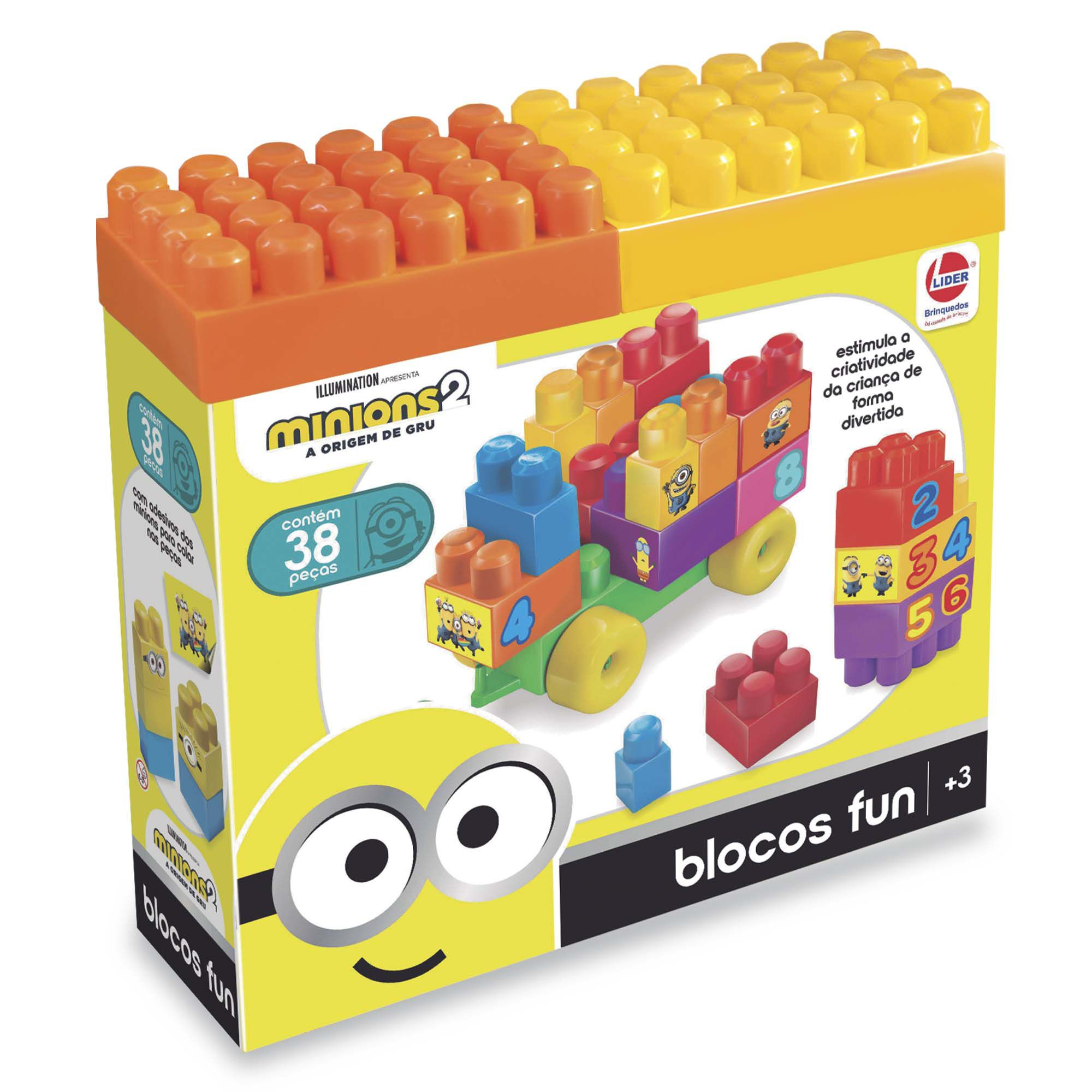 Blocos Fun Minions