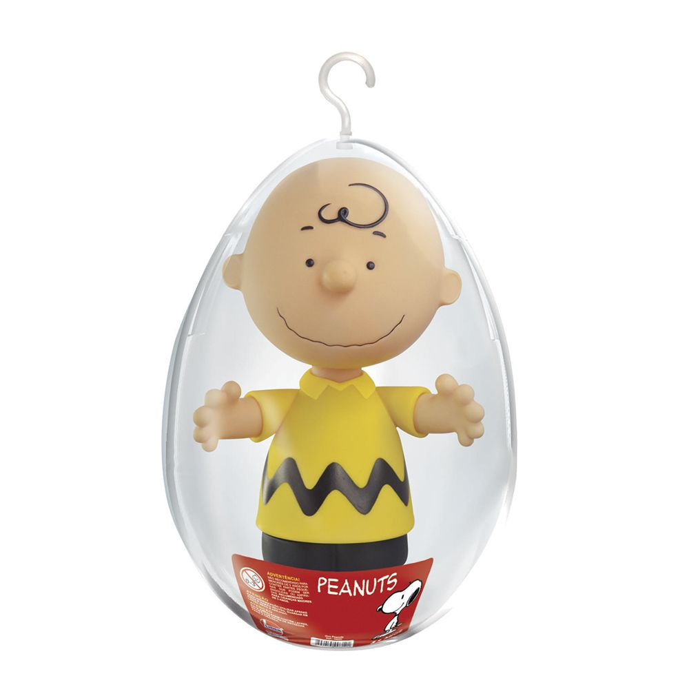 Boneco Charlie Brown Peanuts