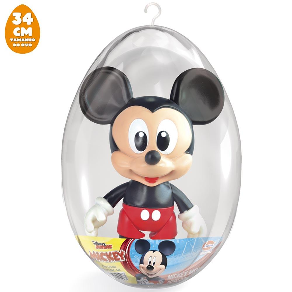 Boneco Mickey Baby no Ovo Grande