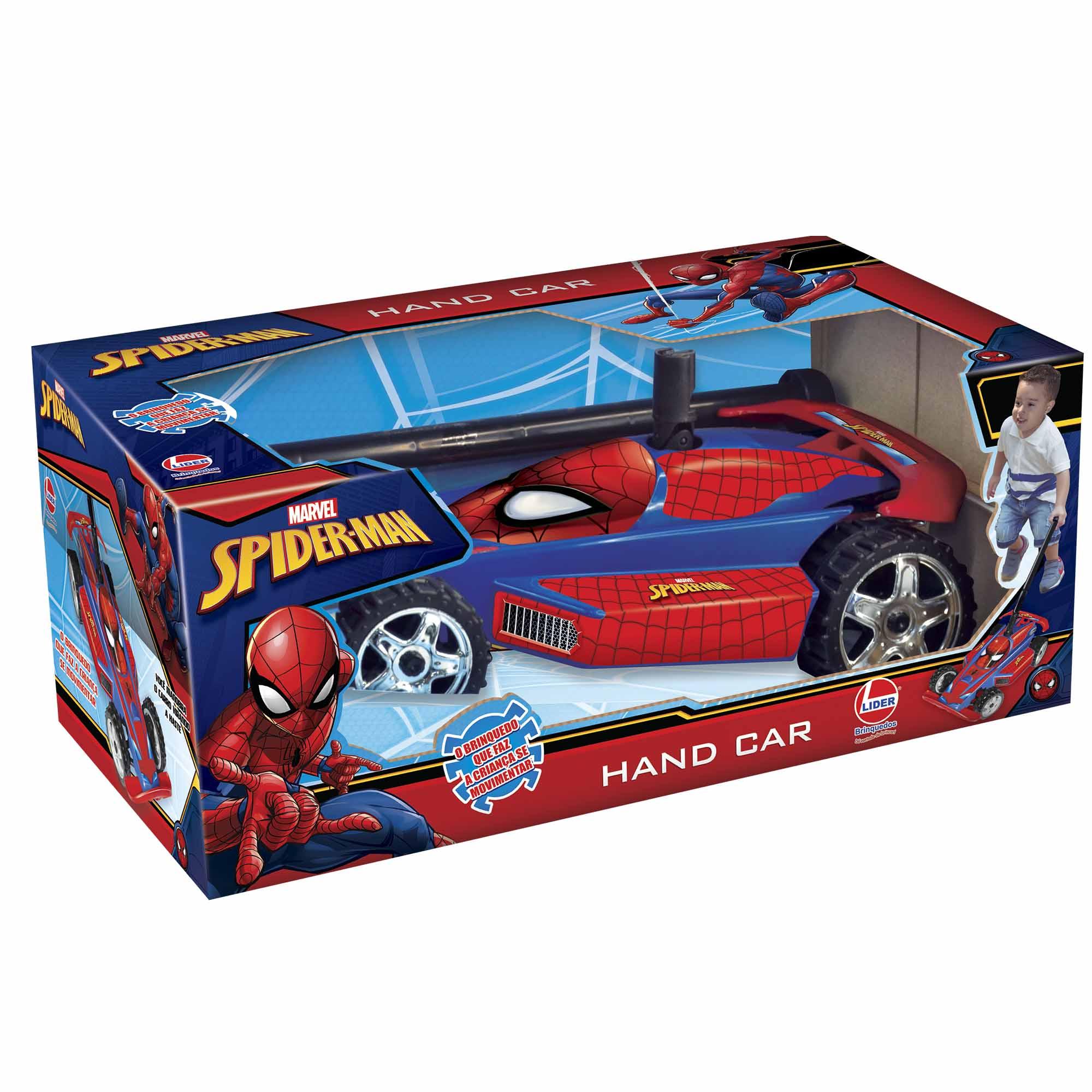 HAND CAR AVENGERS SPIDERMAN