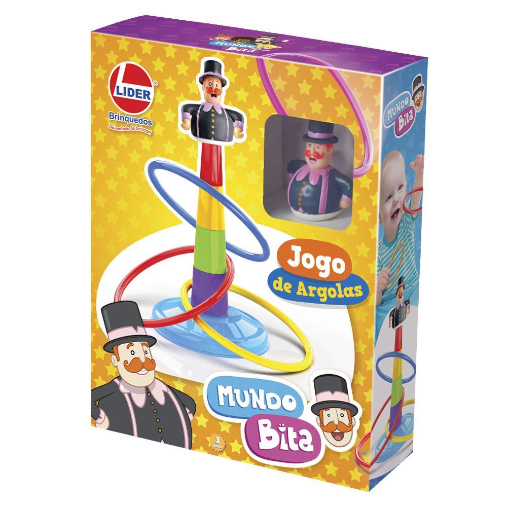 JOGO DE ARGOLAS MUNDO BITA