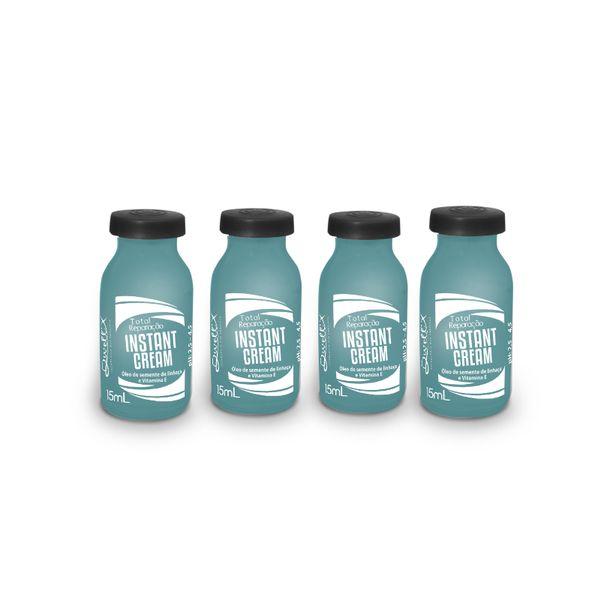 Ampola Instant Cream 15 mL cada  ( Caixa com 4 Ampolas)