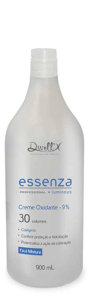 Creme Oxidante (OX) 30 Vol. Essenza 900mL  Dwell'x