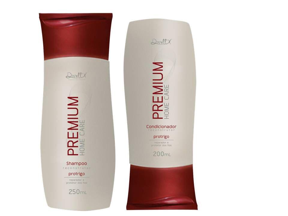 Kit Reconstrutor  Shampoo 250 ml , Condicionador 200 ml Pro Trigo Profissional Dwell'x