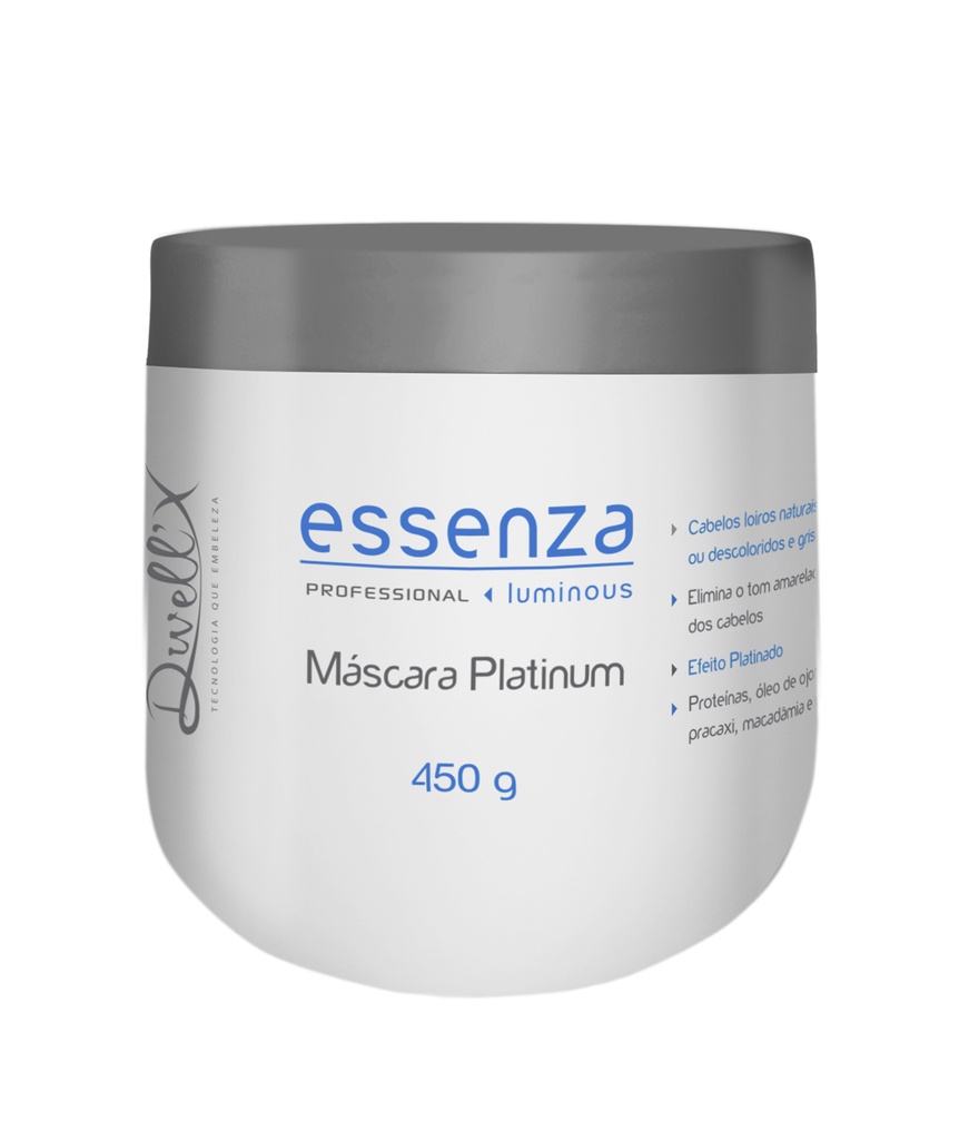 Máscara Platinum Essenza 450g Dwell'x