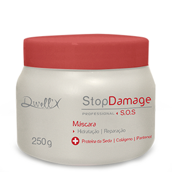 Máscara SOS Stop Damage 250 gr Dwell'x