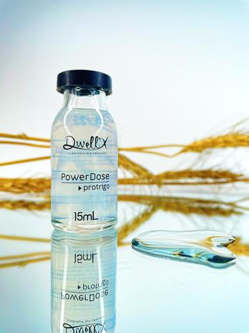 Power Dose Premium Pró Trigo ampola capilar 15 ml cada ( Caixa com 4 unidades)
