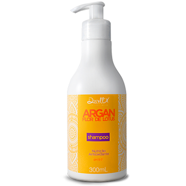 Shampoo 300 ml  Argan Flor de Lotus Dwell'x