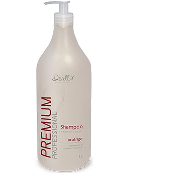Shampoo Reconstrutor Premium Pró Trigo 1L Dwell'X