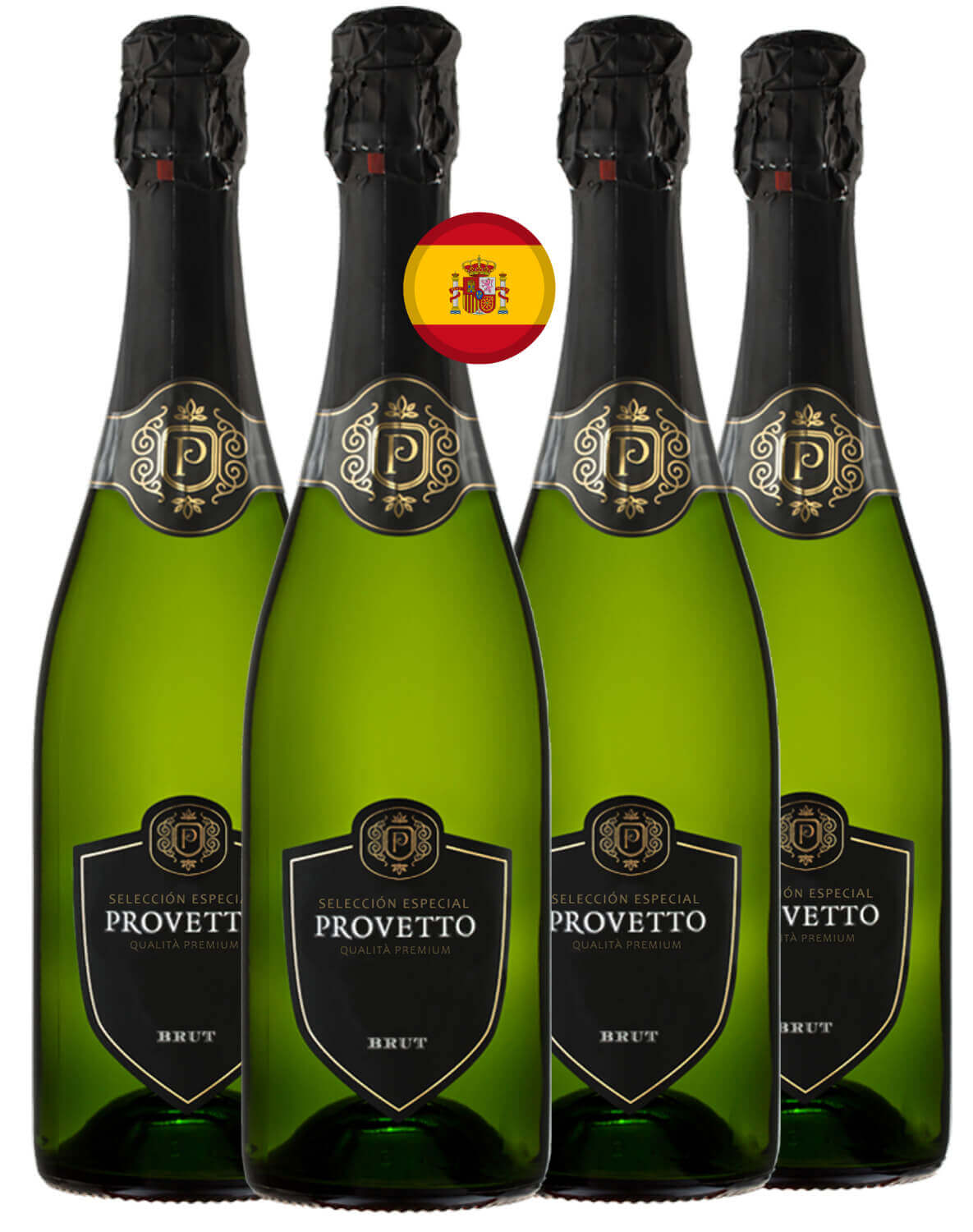 Espumante Natural Branco Brut Provetto Airen