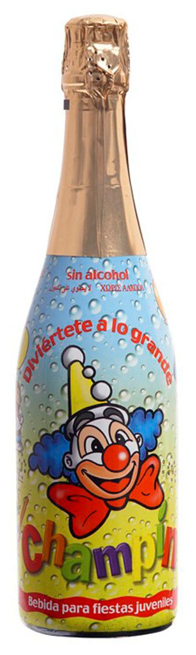 Espumante Sem Álcool Champin Base De Maçã