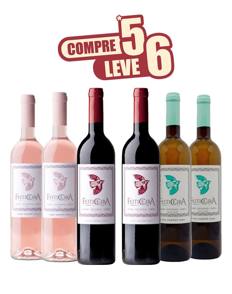KIT COMPRE 5 LEVE 6 - FEITICEIRA - PORTUGAL