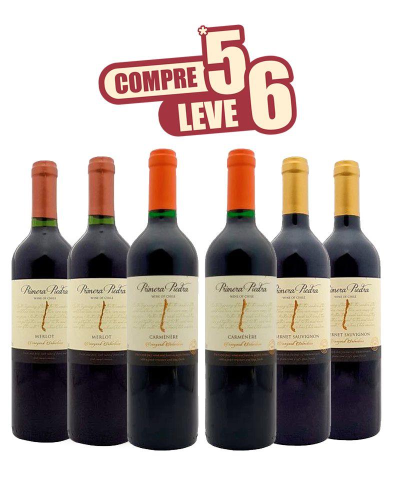 KIT COMPRE 5 LEVE 6 - PRIMERA PIEDRA - CHILE