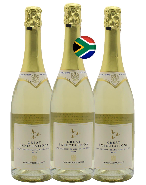 Kit Espumante Branco Great Expectations Sauvignon Blanc