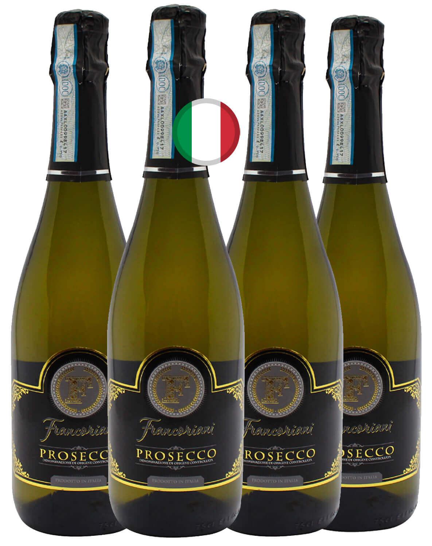 Kit Espumante Branco Prosecco Francoriani