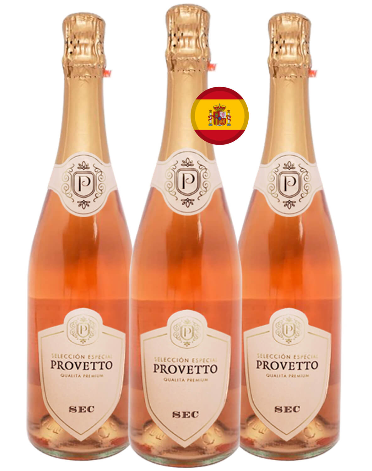 Kit Espumante Rosé Provetto Tempranillo