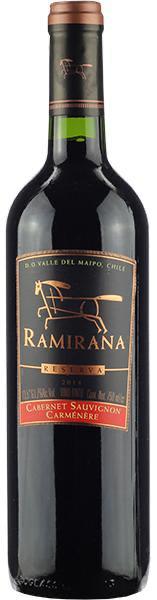 Vinho Tinto Ramirana Reserva Cabernet Sauvignon Carmenere