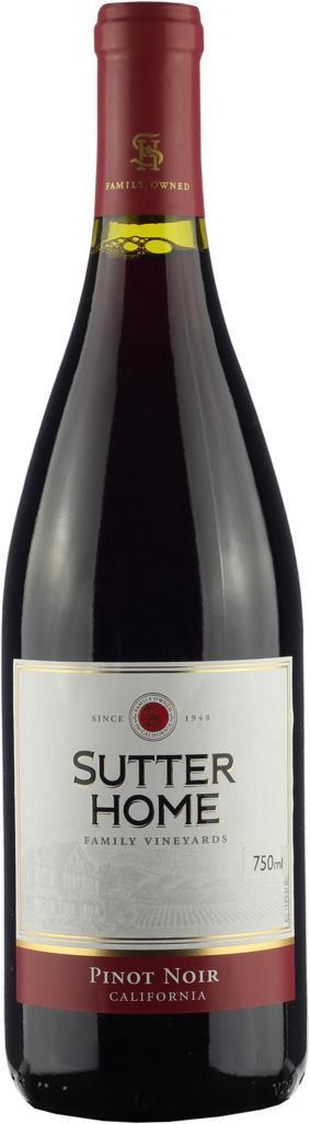 Vinho Tinto Trinchero Sutter Home Pinot Noir