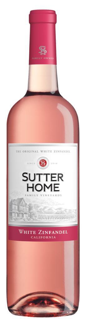 Vinho Rosé Sutter Home White Zinfadel