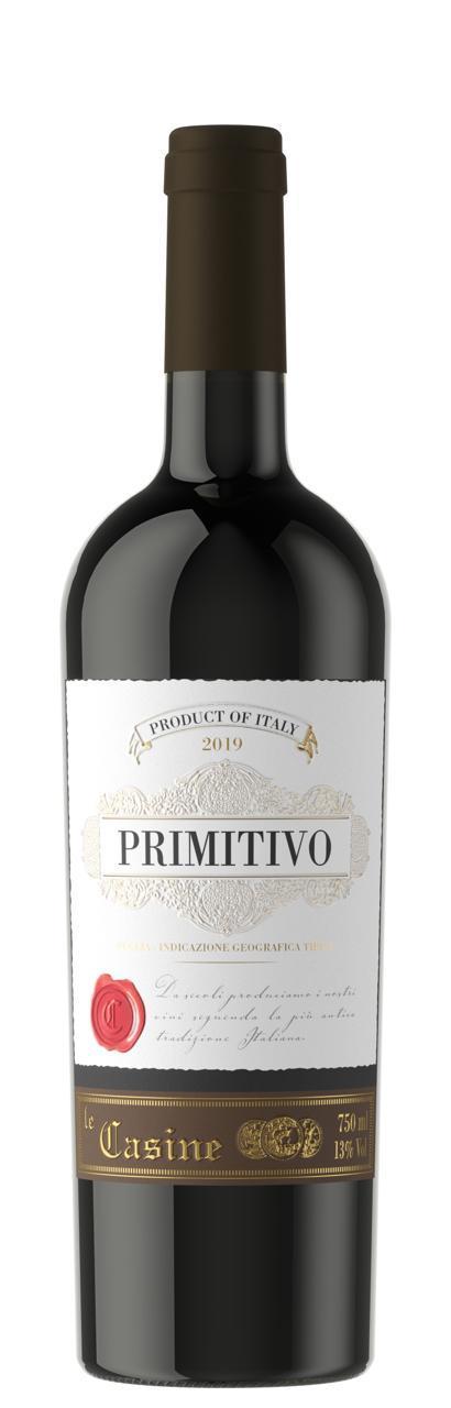 Vinho Tinto Le Casine Primitivo 2019