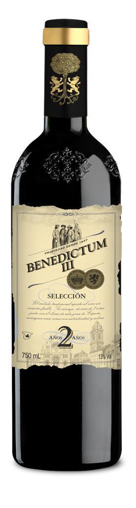 Vinho Tinto Benedictum III Seleccion 2 Anos 2016