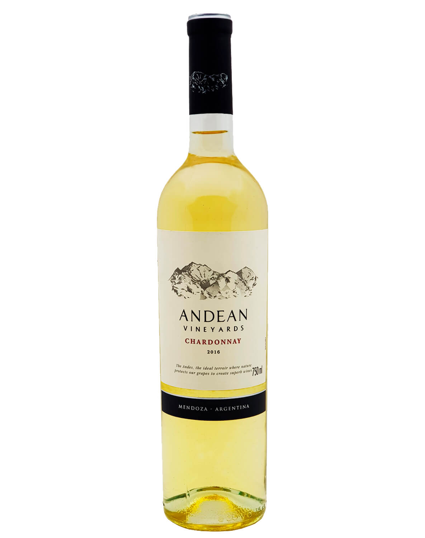 Vinho Branco Andean Vineyards Chardonnay 2016