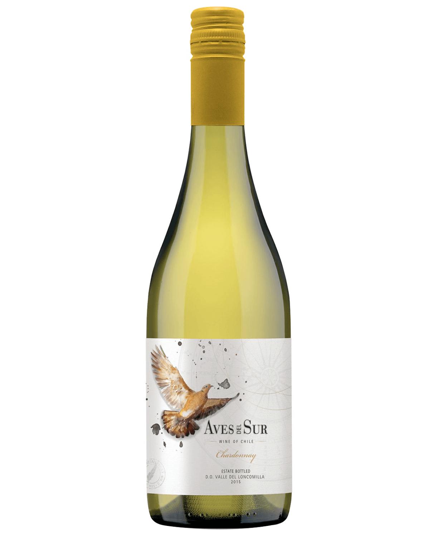 Vinho Branco Aves Del Sur Chardonnay 2019