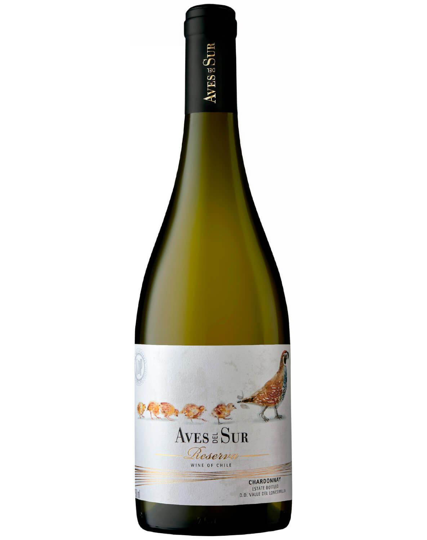 Vinho Branco Aves Del Sur Reserva Chardonnay 2019