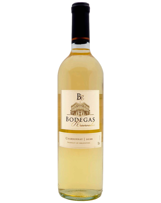 Vinho Branco Bodegas Reservadas Chardonnay 2020
