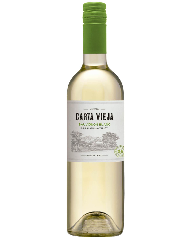 Vinho Branco Carta Vieja Sauvignon Blanc D.O. Vale do Loncomilla 2019