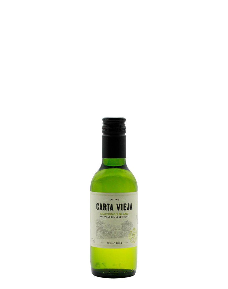 Vinho Branco Carta Vieja Sauvignon Blanc D.O. Vale do Loncomilla
