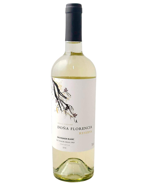 Vinho Branco Doña Florencia Reserva Sauvignon Blanc D.O. Vale do Maule 2018